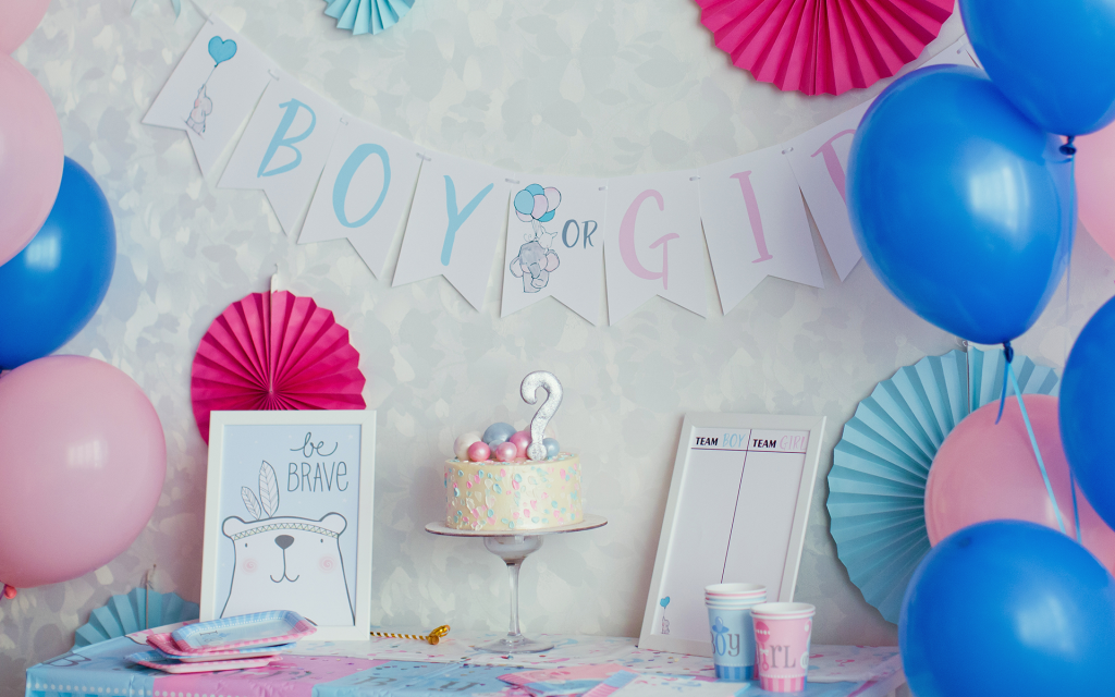 It's Magic: A Dry Ice Gender Reveal Idea