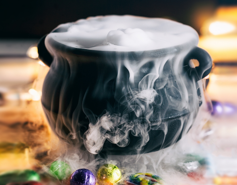 Create long-lasting fog effects with dry ice.