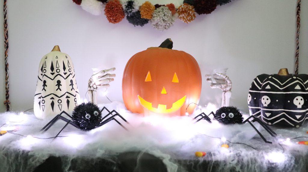 Spooky Jack-O'-Lantern